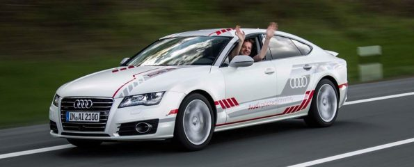 Asianautocom Audi Starts Piloted Driving On The Autobahn - Audi piloted driving