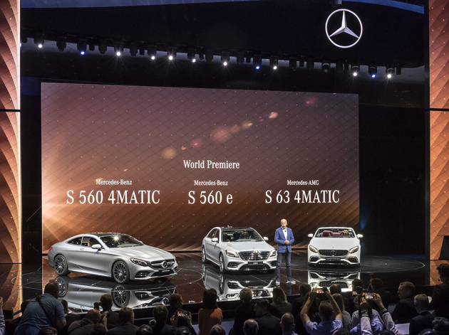 Asianauto com » Mercedes-Benz made the biggest noise at this