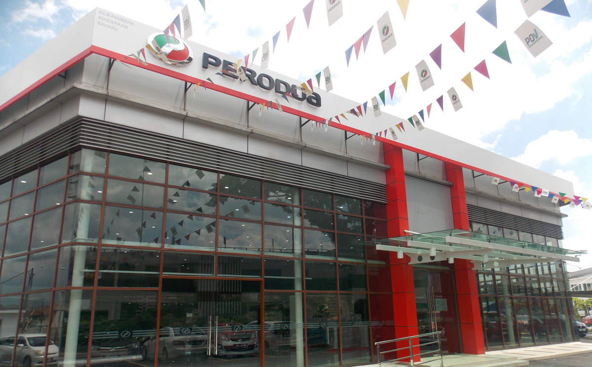 Perodua S First Ever Used Car Showroom Opens