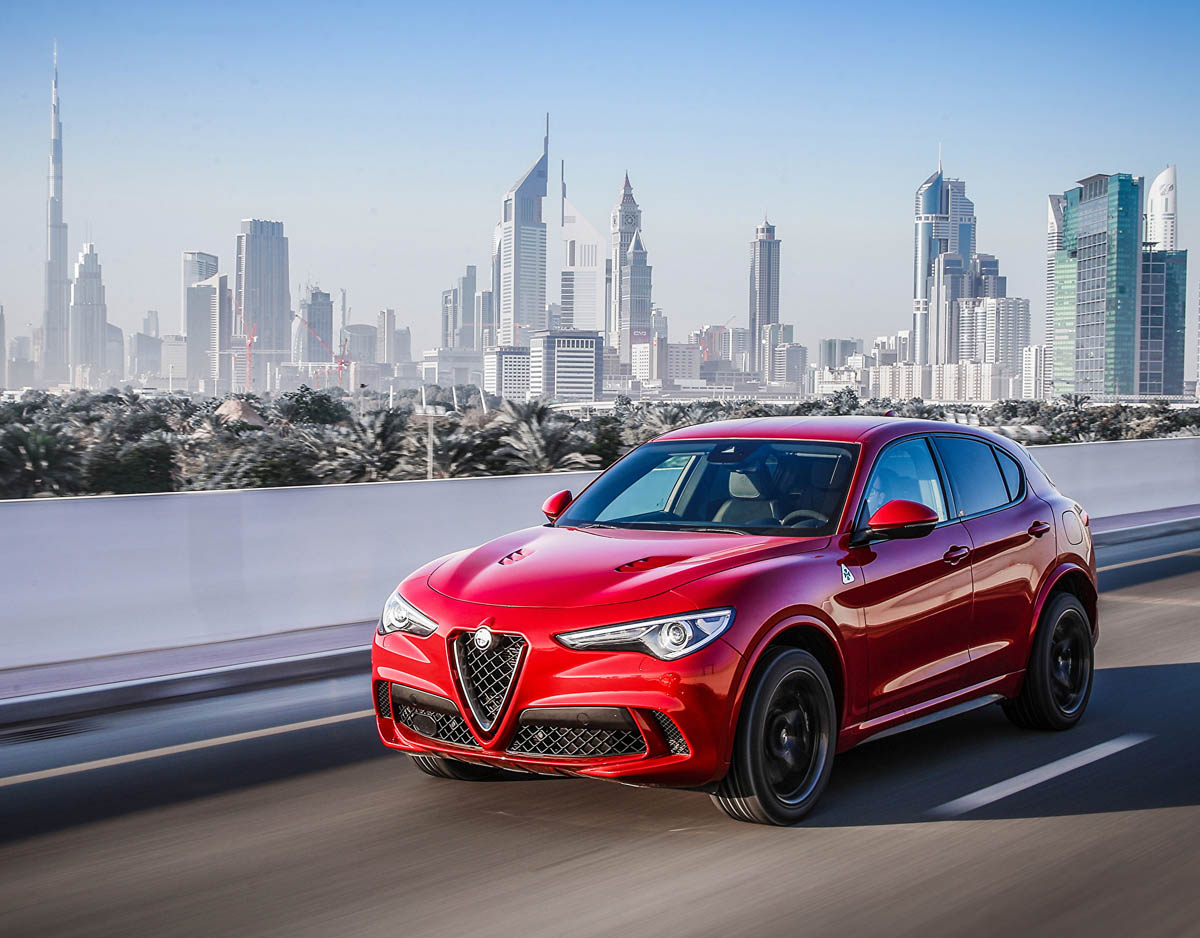 alfa romeo stelvio quadrifoglio is the most wanted suv today. Black Bedroom Furniture Sets. Home Design Ideas