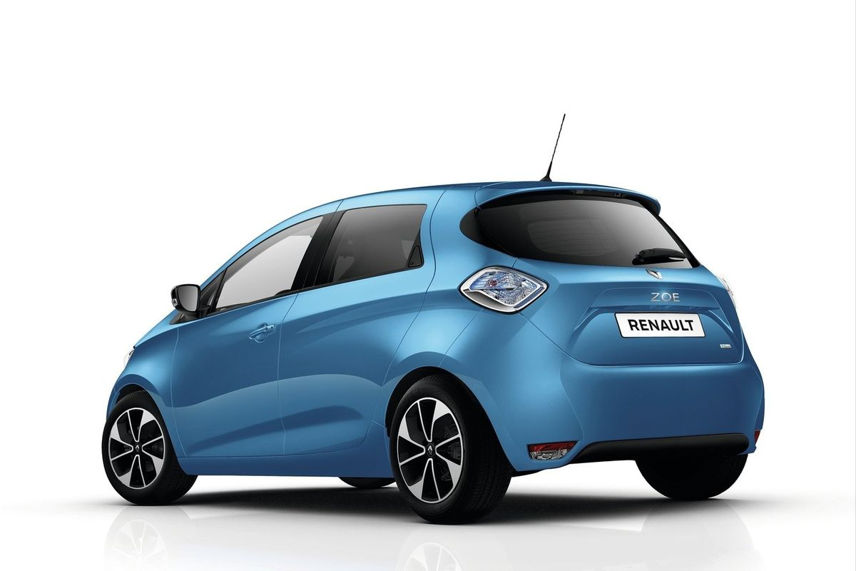 renault zoe r110 with 107bhp coming. Black Bedroom Furniture Sets. Home Design Ideas