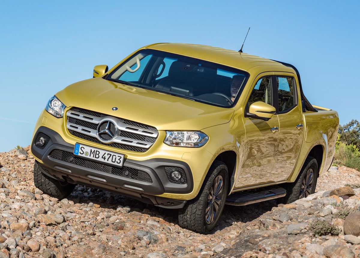 Asianauto Com 187 We Think The Mercedes X Class Pickup Truck