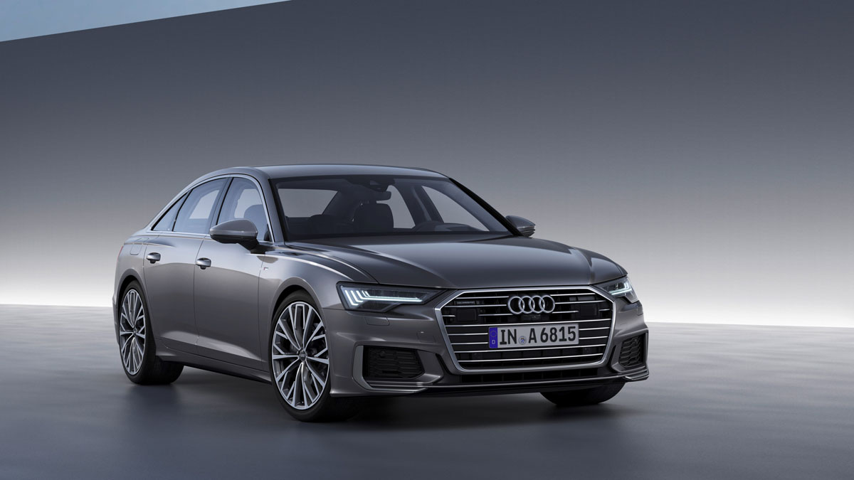 Asianauto Com 187 Audi A6 The 2018 Business Class Sedan