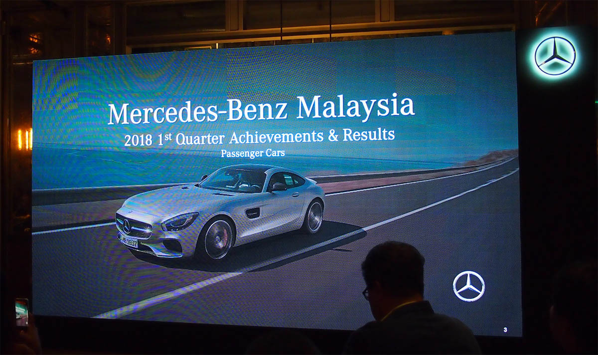 Mercedes benz malaysia hits a high q1 sales for Mercedes benz malaysia